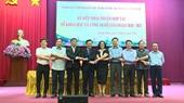 Sở Khoa học - Công nghệ tỉnh Quảng Ninh và Học viện Nông nghiệp Việt Nam, Trường Đại học Xây dựng ký kết thỏa thuận hợp tác về khoa học công nghệ