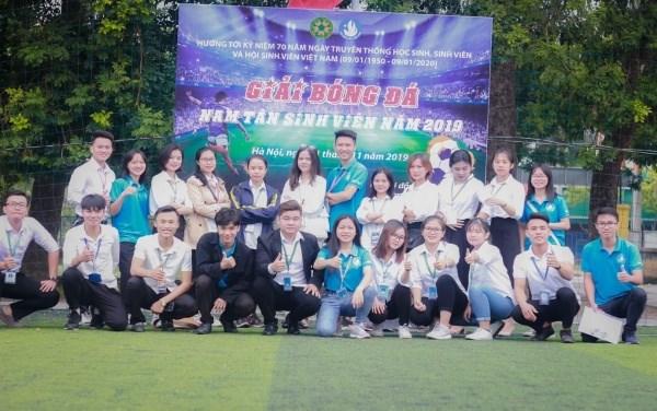 Giải bóng đá chào mừng ngày truyền thống học sinh, sinh viên 2020