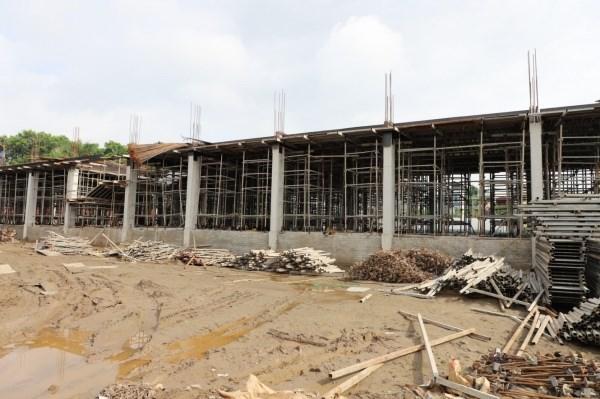 Các Dự án đang được thi công tại Học viện Nông nghiệp Việt Nam