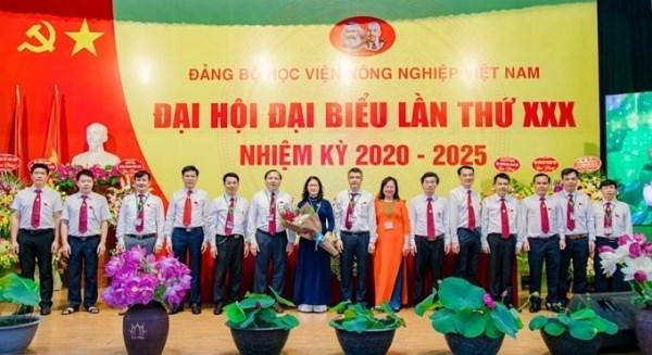 Đại hội Đảng bộ Học viện Nông nghiệp Việt Nam lần thứ XXX, nhiệm kỳ 2020 – 2025