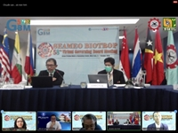 Giám đốc Nguyễn Thị Lan tham dự Hội nghị Ban Điều hành SEAMEO BIOTROP lần thứ 58 trực tuyến
