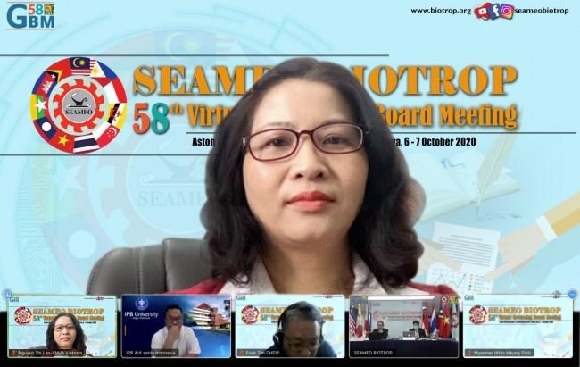 Giám đốc Nguyễn Thị Lan tham gia Hội nghị
