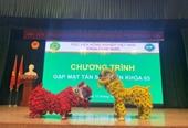 Sôi nổi chương trình chào tân sinh viên khóa 65 khoa Chăn nuôi Học viện Nông nghiệp Việt Nam