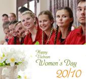 Sinh viên quốc tế chúc mừng ngày Phụ nữ Việt Nam 20 10 2020
