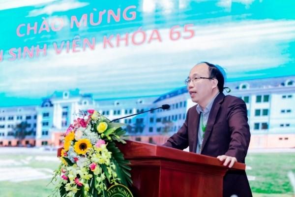 PGS.TS Nguyễn Hoàng Anh, Trưởng Khoa Công nghệ thực phẩm phát biểu khai mạc