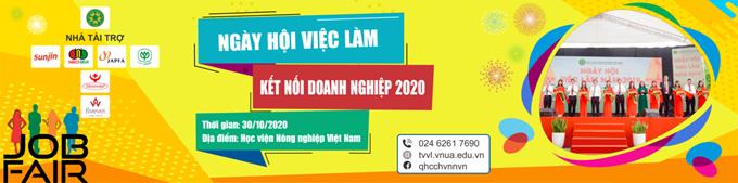 Ngày hội việc làm năm 2020 - Cơ hội 'vàng' tìm kiếm việc làm dành cho sinh viên