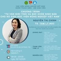 Hội thảo tư vấn giới tính và sức khỏe sinh sản cho nữ sinh Học viện Nông nghiệp Việt Nam