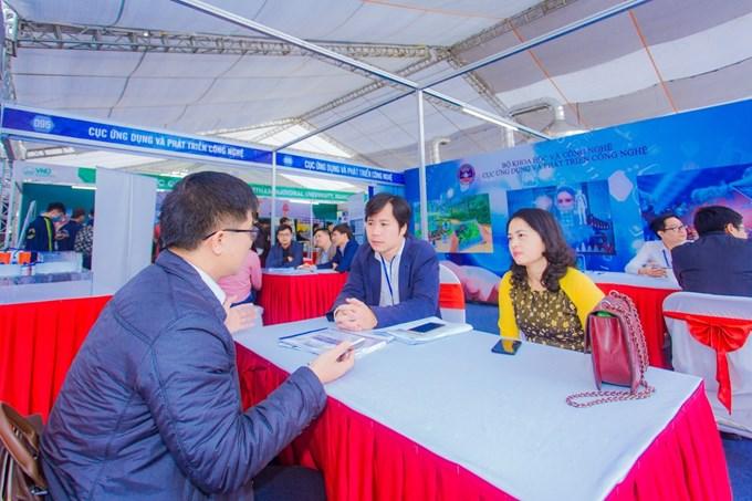 Hoạt động tư vấn công nghệ, cải tiến quy trình kỹ thuật, tư vấn kết nối tài chính - công nghệ, sở hữu trí tuệ với sự tham gia của các doanh nghiệp, chuyên gia công nghệ, tài chính, sở hữu trí tuệ