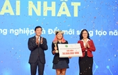 """Dự án lá chuối Việt vô địch cuộc thi """"Khởi nghiệp Nông nghiệp Đổi mới sáng tạo 2020"""
