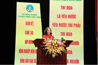 Giám đốc Học viện Nông nghiệp Việt Nam Nguyễn Thị Lan dự Đại hội Thi đua yêu nước ngành Nông nghiệp và Phát triển nông thôn lần V
