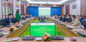 Đoàn công tác của Bộ Nông nghiệp và Phát triển Nông thôn, tỉnh Đồng Tháp đến thăm và làm việc với Học viện Nông nghiệp Việt Nam