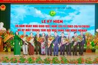 Học viện Nông nghiệp Việt Nam kỷ niệm ngày Nhà giáo Việt Nam