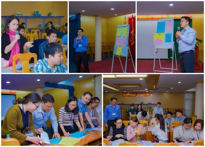 Thảo luận, chia sẻ tri thức và kinh nghiệm giữa các doanh nghiệp