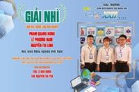 Học viện Nông nghiệp Việt Nam giành giải Nhì tại Giải thưởng Sinh viên Nghiên cứu Khoa học - Euréka lần thứ 22