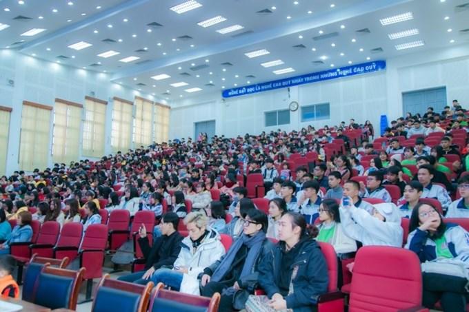 Học sinh Trường THPT Nam Trực, Nam Định đến tham quan, trải nghiệm tại Học viện