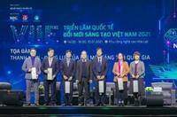 Học viện Nông nghiệp Việt Nam lọt top 10 gian hàng đổi mới sáng tạo tại Triển lãm Quốc tế Đổi mới Sáng tạo Việt Nam năm 2021