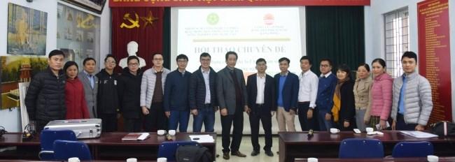 Hội thảo chuyên đề giữa nhóm nghiên cứu mạnh và Công ty cổ phần Bóng đèn phích nước Rạng Đông