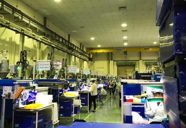 Khu vực sản xuất của nhà máy