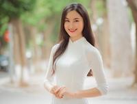 Nhan sắc nổi bật của Lê Thị Vi - Top 5 Hoa khôi sinh viên Việt Nam 2020