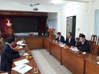Khoa Chăn nuôi - Học viện Nông nghiệp Việt Nam làm việc với Công ty Cổ phần Chăn nuôi C P Việt Nam