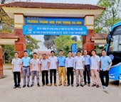 Ban Quản lý Cơ sở vật chất tổ chức tư vấn tuyển sinh tại 08 Trường THPT thuộc tỉnh Hòa Bình, Phú Thọ