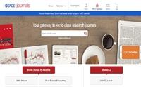 """Cơ sở dữ liệu tạp chí điện tử đa ngành """" SAGE e-Journals Collection"""""""