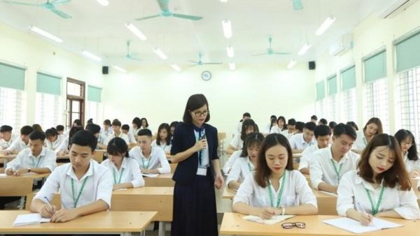 Một tiết học pháp luật tại Học viện Nông nghiệp Việt Nam