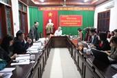 Hội nghị thẩm định đề tài  Nghiên cứu xây dựng mô hình ứng dụng khoa học công nghệ trong sản xuất cam, chè an toàn trên địa bàn tỉnh Hà Giang