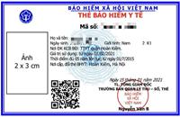 Thẻ BHYT mẫu mới sẽ được cấp từ ngày 01 4