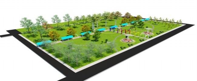 Phối cảnh xây dựng, cải tạo khuôn viên xanh khu KTX