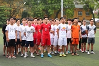 Khai mạc Giải bóng đá truyền thống của sinh viên khoa Cơ - Điện năm 2021
