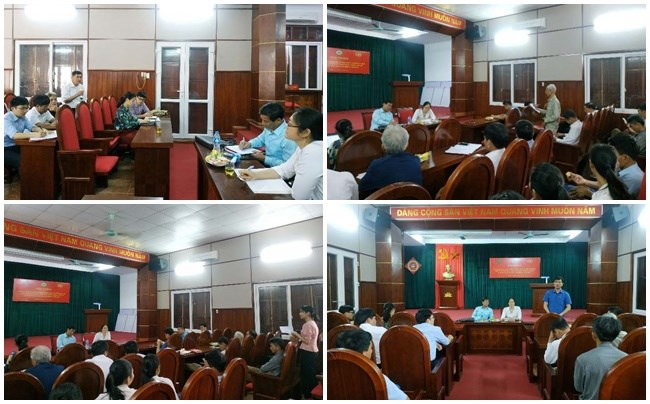 Một số hình ảnh các đại biểu tham gia thảo luận tại Hội thảo