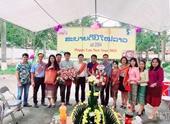 Học viện Nông nghiệp Việt Nam tổ chức đón Tết truyền thống cho lưu học sinh Lào và Campuchia