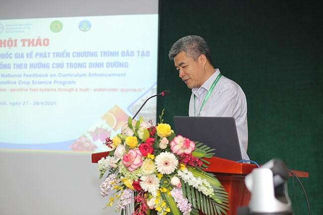 Phó Giám đốc HVN Phạm Văn Cường phát biểu chào mừng