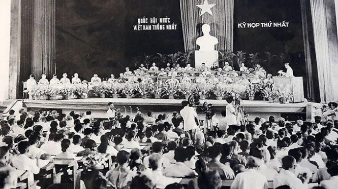 Kỳ họp thứ nhất, Quốc hội khóa VI - Quốc hội đầu tiên của nước Việt Nam thống nhất