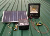 Nghiên cứu thiết kế hệ thống đèn LED sử dụng pin mặt trời chiếu sáng đường phố và công viên