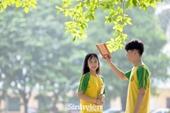 Thiên đường sống ảo thu hút giới trẻ tại ngôi trường rộng nhất Thủ đô