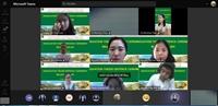 Khoa Sư phạm và Ngoại ngữ tổ chức Bảo vệ Khóa luận trực tuyến cho sinh viên K62 ngành Ngôn ngữ Anh