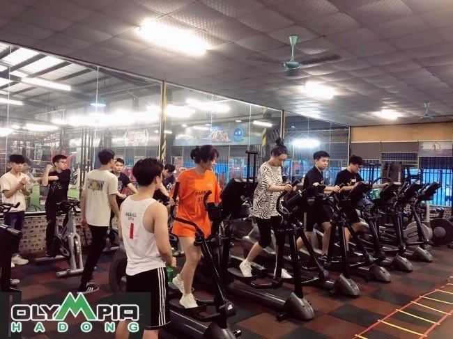 Phòng tập Thể dục thể thao Olympia Học viện Nông nghiệp Việt Nam