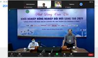 Học viện Nông nghiệp Việt Nam chính thức khởi động cuộc thi về khởi nghiệp