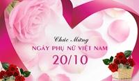 Thư chúc mừng nhân dịp kỷ niệm 91 năm ngày phụ nữ Việt Nam 20 10 1930-20 10 2021
