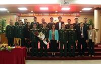 Đại hội chi bộ khoa Giáo dục quốc phòng nhiệm kỳ 2020 - 2023