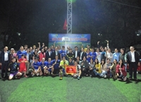 Khoa Quản lý đất đai vô địch Giải bóng đá truyền thống cán bộ, viên chức năm 2020