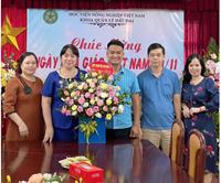 Khoa Quản lý đất đai tổ chức ngày nhà giáo Việt Nam 20 11