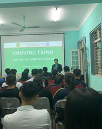 Chào Tân sinh viên K65 Khoa Thủy sản - Học viện Nông nghiệp Việt Nam