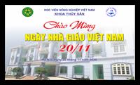 Lễ chào mừng ngày Nhà giáo Việt Nam 20 11 2020