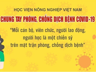 Tổng hợp danh sách các tập thể, cá nhân trong và ngoài Học viện Nông nghiệp Việt Nam ủng hộ sinh viên gặp khó khăn do đại dịch COVID-19