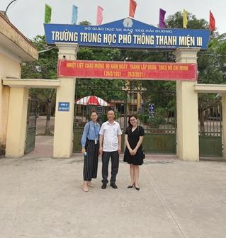 Ban Thanh tra thực hiện nhiệm vụ quảng bá tuyển sinh tại tỉnh Hải Dương
