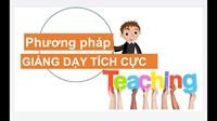 Kết quả thử nghiệm một số phương pháp dạy học tích cực trong việc dạy kĩ năng nói cho sinh viên năm thứ nhất ngành ngôn ngữ Anh - Học viện Nông Nghiệp Việt Nam