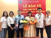 Lễ bảo vệ khóa luận tốt nghiệp cho sinh viên K61 ngành Sư phạm kỹ thuật nông nghiệp